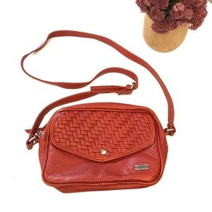 Roxy Burnt Orange Cross Body Bag/Purse